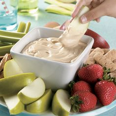 Fluffy Peanut Butter Dip - The Pampered Chef® www.pamperedchef.biz/nataliahibbert