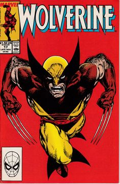 Wolverine 17 November 1989 Issue  Marvel Comics  by ViewObscura