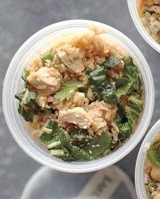 Brown Rice, Chicken, and Cilantro Salad - Martha Stewart Recipes