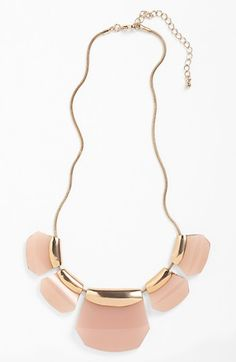 Kool Konnections Stone Statement Necklace (Juniors)