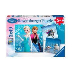 Disney Frozen Puzzel: Avontuur in Winterland, 3x49st.