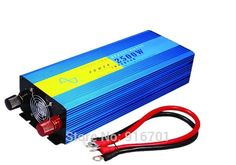 2500W Power Inverter Pure Sine Wave 12V DC to 220V AC Converter Car inverters AC Adapter Power Supply #Affiliate