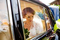 Modern glamour in 'Elizabeth' Rolls-Royce Silver Cloud. Photograph by Kate Nutt.