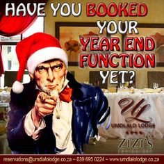 Have you booked your year end function yet? Book & save BIG on #earlybird #yearend functions! Visit our website for more information, link in bio. #KZNSouthCoast @infosouthcoast
