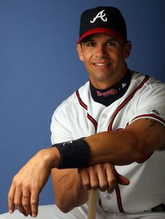 Javier Lopez during his Braves days