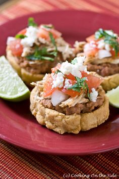 you can cradle lots of goodies inside these golden-fried masa discs Mexican Dishes, Mexican Food Recipes, Ethnic Recipes, Sopes Recipe, My Favorite Food, Favorite Recipes, Mexican Chicken, Football Food, Appetizers For Party