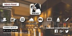 BBME is an online ordering solution that brings orders to your restaurant through the app Client database / Analytics / Loyalty Program / Offers and discounts / share meal choices via social media Order / reserve / deliver / full customization available. Admin Panel, Loyalty, Choices, Connection, Bring It On, Meal, Social Media, Restaurant, App