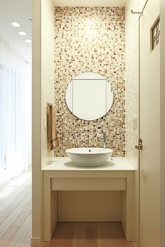 bathroom remodeling ideas is extremely important for your home. Whether you choose the bathroom remodeling or minor bathroom remodel, you will create the best bathroom remodeling for your own life. Modern Tv Room, Modern Sink, Modern Bathroom, Small Bathroom, Cozy Bathroom, Wash Basin Counter, Wash Basin Cabinet, Diy Bathroom Remodel, Bathroom Interior