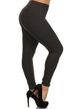 ad10c4f87bb Leggings Depot Extra Plus Ultra Buttery Soft Basic Solid Leggings at Amazon  Women s Clothing store