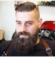 Fade ande long beard