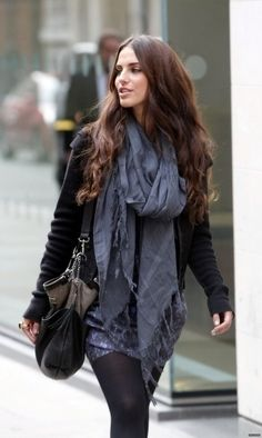 oversized scarves.