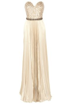 Strapless Belted Gown By ANDREW GN @ http://www.boutique1.com/