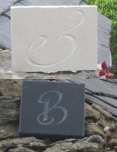 Jon Bush.E on stone, B in slate 2014