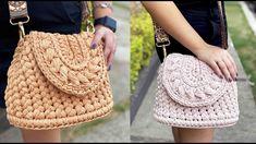 Crochet Case, Bag Crochet, Crochet Purses, Crochet Clutch Bags, Crochet Handbags, Crochet Bag Tutorials, Crochet Videos, Handmade Bags, Handmade Handbags