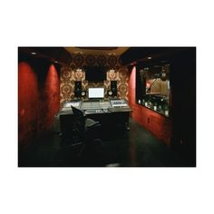 recording studio ❤ liked on Polyvore featuring house, music, places and rooms and houses