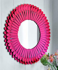 DIY Roundup: How to Jazz Up a Boring Mirror | The Writing on the Wall