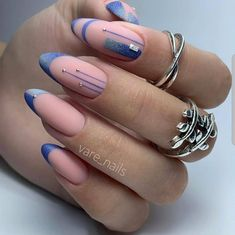 24 Beautiful Matte Short Almond Nails Design For Spring Nails - The Secret of Modern Beauty Hot Nails, Swag Nails, Hair And Nails, Summer Acrylic Nails, Spring Nails, Almond Nails Designs, Pretty Nail Art, Nail Designs Spring, Beautiful Nail Designs