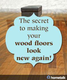 How to refinish wood floors pinterest refinish wood floors no sanding no mess non toxic hard wood floor refinishing solutioingenieria Image collections
