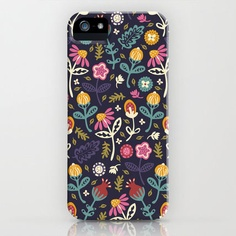 ★Society6★IPhone Case ケース Flowers by Poppy