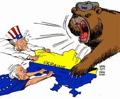 """Ucrania: centro de la lucha por el poder global (¿rediviva """"guerra fría"""" por el gas y el petróleo?)"""