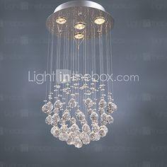 SL® Chandelier Luxury Modern Crystal 4 Lights 2017 - kr.815