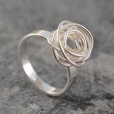 Check out our handmade silver rings selection for the very best in unique or custom, handmade pieces from our shops. Silver Rings Handmade, Sterling Silver Jewelry, Gold Jewelry, Jewelery, Jewellery Box, Jewellery Shops, Jewelry Stores, Craft Jewelry, Jewellery Packaging