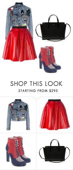 """Sem título #180"" by gabriele-justi on Polyvore featuring moda, Alice + Olivia, Marc Jacobs, Bally e Lacoste"