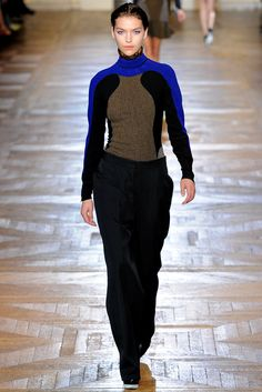 Stella McCartney Fall 2012 Ready-to-Wear Fashion Show - Arizona Muse (Next)