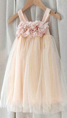 $77.99 Square Neckline Empire Flower Girl Dress