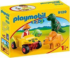 Playmobil 9120 Explorateur et dinosaures: Amazon.fr: Jeux et Jouets