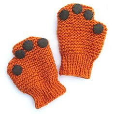Morehouse Farm Merino     Puppy Paw Mittens KnitKit