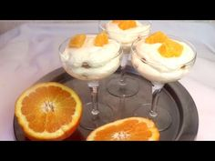 Quick Without Oven, Orange Tiramisu with Biscuits # 163 Pudding, Trifle, Mousse, Biscuits, Chocolate, Cooking, Tableware, Sweet, Desserts
