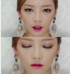 #goo hara #kpop #makeup