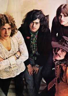 Led Zeppelin at Chateau Marmont Hotel, 1969.