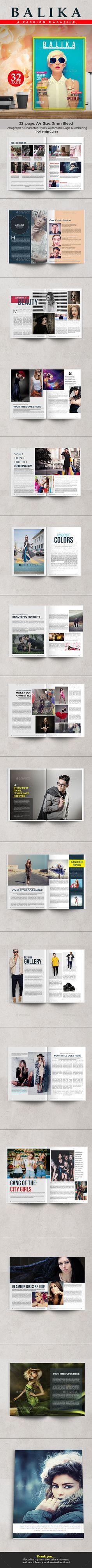 Fashion Magazine - 32 page