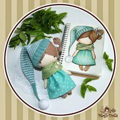magicdolls: Crochet dolls Ma Petite Poupee - Mint Gnome