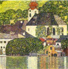 Другая грань творчества Густава Климта — пейзажи - Ярмарка Мастеров - ручная работа, handmade