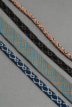 ayagaki - pick-up braid, double weave | Fiber Crafts ...