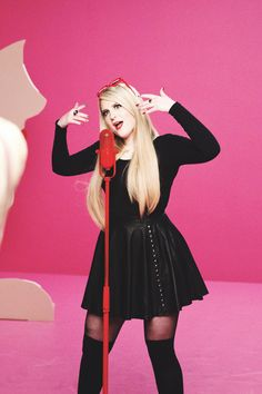 I love Meghan Trainer. She is such a good influence on kids these days and you don't really see those around anymore