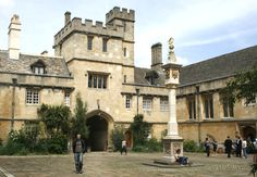 Corpus Christi College, Oxford, or the Residence of Corpus.