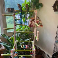 THE INDULGER Floor-Version: Fun Play Gym and Play Stand for | Etsy Cockatiel, Parakeets, Bird Play Gym, Parrot Play Stand, Furniture Grade Pvc, Bowls, Bird Stand, Conure, Love Birds