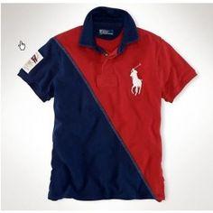 Ralph Lauren bedding Men Stripe Polo MRLSTP073 [ralph-00421] - $35.00 : Ralph Lauren Outlet Online - Cheap Ralph Lauren Polo Shirts Sale