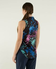 lululemon makes technical athletic clothes for yoga, running, working out, and most other sweaty pursuits. Athletic Outfits, Lululemon, Active Wear, Polo, Tank Tops, Sports, Clothes, Women, Fashion