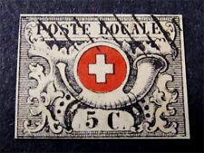 Switzerland Stamp # 2L6 Forgery $2100 If Genuine
