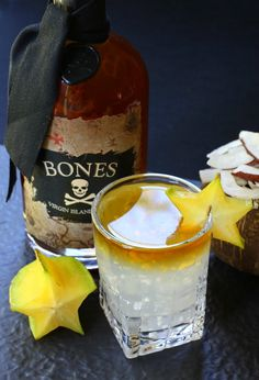 This Coconut Rum Floater will get you in the mood for an island vacation!