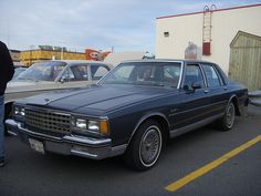 1984 Chevy Caprice Classic - loved this car! Was my first larger car - had it for six years!