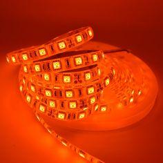 Orange Flexible LED Strip Waterproof Home Lighting Under Cabinet Lighting, Shop Lighting, Led Strip, Solar Lights, Cartier Love Bracelet, T5, Wifi, Electric, Deck