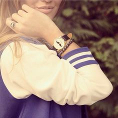 #nohowstyle is the answer. Get your style on WWW.NOHOWSTYLE.COM   #mustache watch #metal bracelet #crown silver ring.