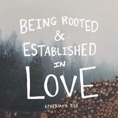 Ephesians 3:17
