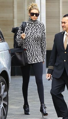 How Gigi Hadid Styles A Turtleneck Sweater   Le Fashion   Bloglovin'